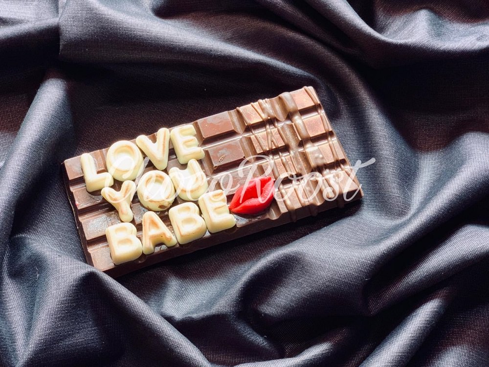 personalized chocolate 1