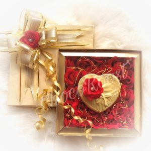 Heart and Rose Box