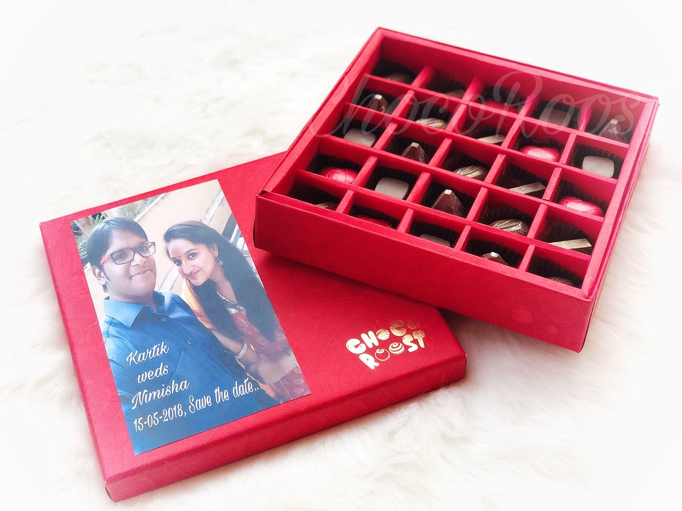 Wedding Chocolates Box