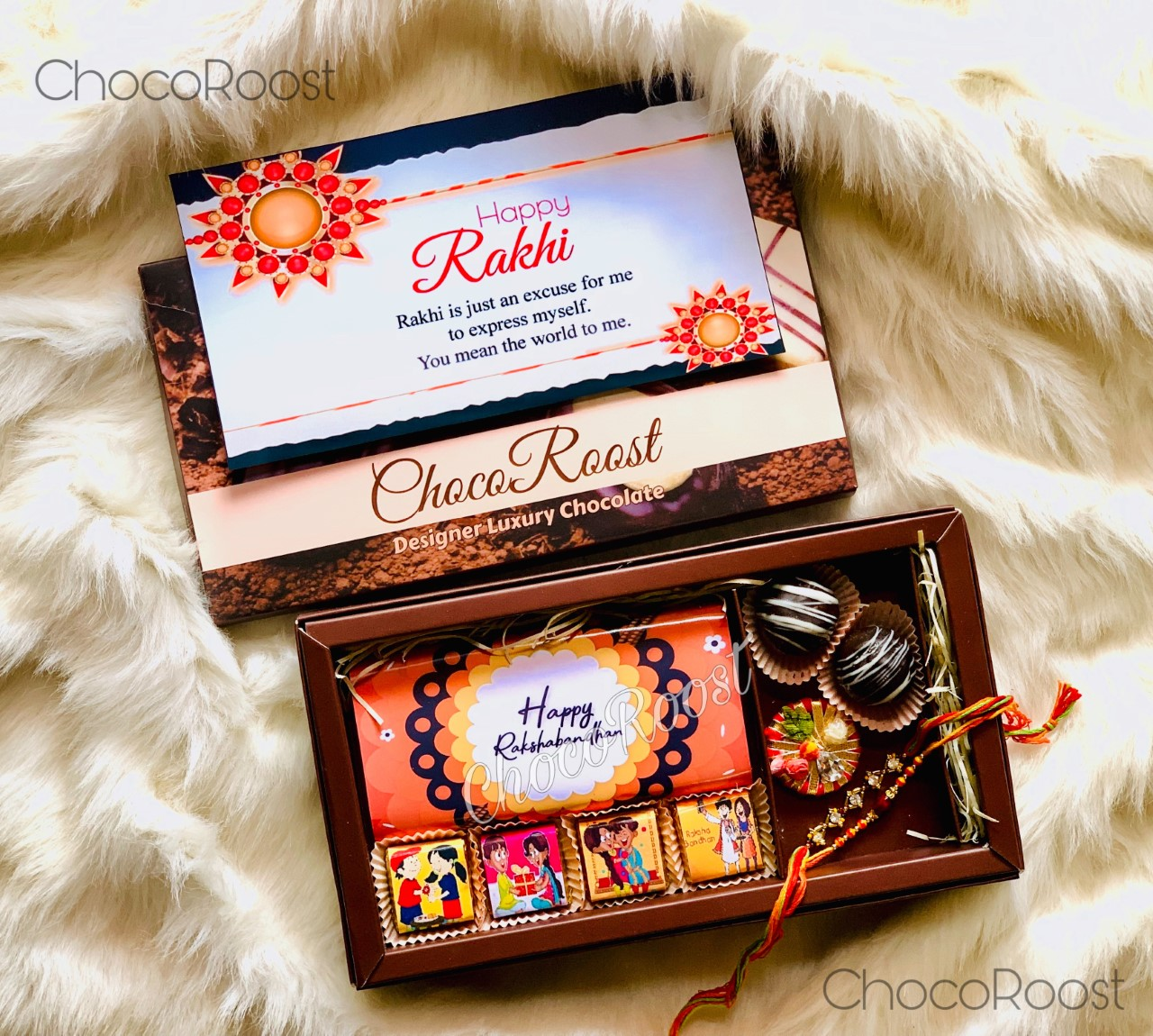 Raksha Bandhan - Chocolates for your loved ones.