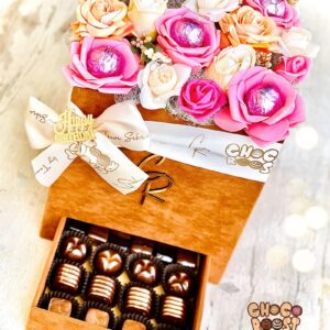 Pink Chocolate Floral Bouqate