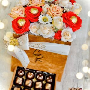 Ruby Chocolate Floral Bouqate