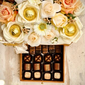 Pearl Chocolate Floral Bouqate